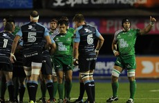Connacht's winning run ends at eight as Cardiff limit Westerners in second half