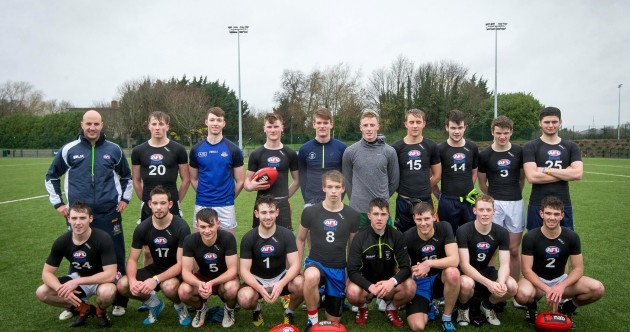 The 20 young Irish hopefuls who've been chasing an AFL contract over the last two days