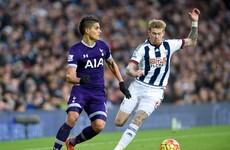 James McClean scores first goal for West Brom in hard-earned draw with Tottenham