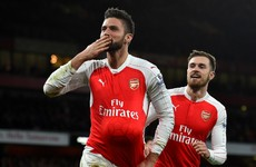 Giroud scores at both ends as Gunners get back on track