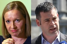 Lucinda had a pop at Pearse Doherty - and then they had a row on Twitter