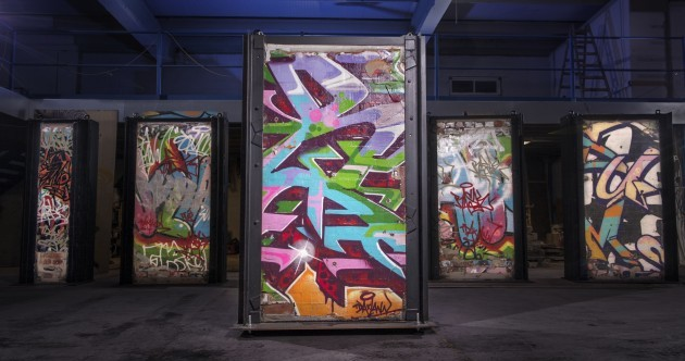 Iconic Windmill Lane graffiti wall to be auctioned off for Movember
