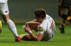 England centre out of Six Nations after sustaining a broken leg and ankle damage in same game