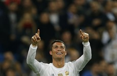 Ronaldo scores 4 in 20 minutes as Real Madrid match Champions League record