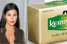 Kourtney Kardashian loves a bit of Kerrygold Irish butter apparently
