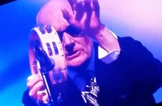 Everyone fell in love with Elton John's gas tambourine player at the Royal Variety