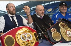 Tyson Fury stripped of his IBF belt – less than two weeks after winning it