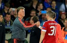 Van Gaal: Schweinsteiger not the player he was at Bayern Munich