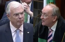 Instead of being kicked out, Peter Mathews was just completely ignored in the Dáil today