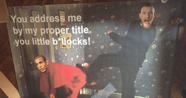 An Irish fan has won best Fr Ted-themed UFC 194 poster