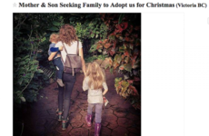This single mum posted a Craigslist ad looking for a family to spend Christmas with
