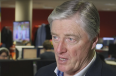 Pat Kenny: 'My voice couldn't even be heard in case an Irish person was nearby'