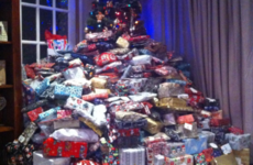 A mum has fired back after this photo of her Christmas tree was mocked on Facebook