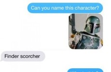 A guy asked his girlfriend to name these Star Wars characters and her answers were excellent