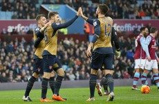 Olivier Giroud reaches milestone as Arsenal move top
