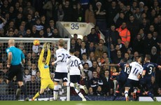 Ireland's Rob Elliot stars as Tottenham's record Premier League run comes to an end