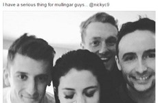 Hey, Mullingar guys! Selena Gomez posted about having a 'serious thing for Mullingar guys'