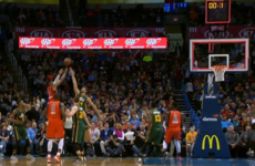 Russell Westbrook needed just 0.7 seconds to pull off this basketball brilliance