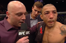 Jose Aldo's 'bitter' post-fight comments may actually have been lost in translation