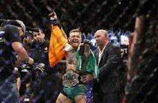 Conor McGregor set to make an eye-watering amount for his Aldo demolition