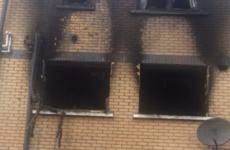 Dublin Fire Brigade show the damage a Christmas tree fire can do