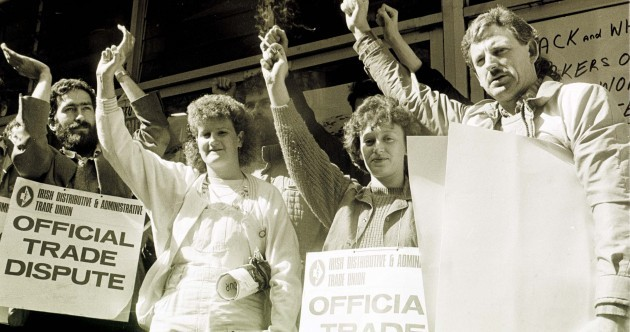 30 years ago Dunnes Stores was involved in ANOTHER workers' dispute… one that shook the world
