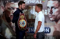 'I agreed to let Andy fight for this world title' - Gambler Saunders thinks he's on a roll