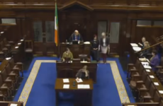 There was only one TD in the Dáil as a bill was passed yesterday