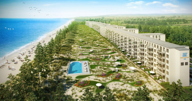 Hitler's 3-mile-long abandoned Nazi resort is being transformed into a luxury getaway