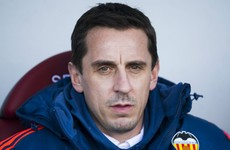 Gary Neville is using iPads to communicate with his Valencia players
