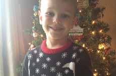 A dad accidentally sent his son to school in this rather cheeky Christmas jumper