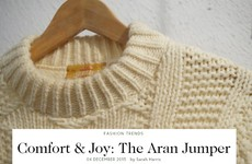 Aran jumpers are officially cool now, according to Vogue