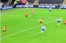Two backheels and bang! You really should see Reading's brilliantly-worked team goal