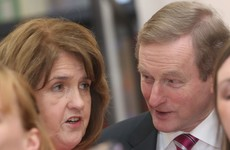 Enda Kenny isn't thinking about anyone else but Joan Burton