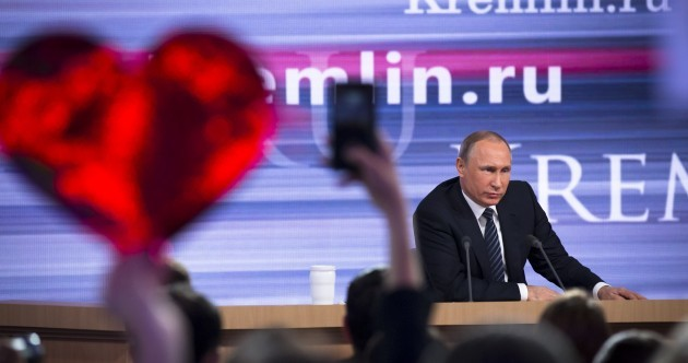 Vladimir Putin basically trolled the world at his epic end-of-year press conference