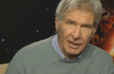 Harrison Ford has this to say to people sharing Star Wars spoilers