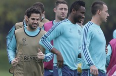 Cesc Fabregas involved in a training-ground bust-up the day before Mourinho sacking