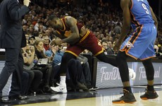 Jason Day's wife concussed but released from hospital after LeBron James courtside collision