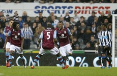 Ayew cracker rescues a point but Villa remain in deep trouble