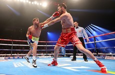 Bitter disappointment for Andy Lee as he loses his world title to Billy Joe Saunders