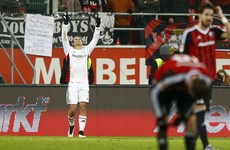 Another Bundesliga weekend, another goal for a red-hot United castaway