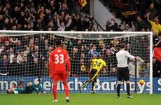 Bogdan's blunder condemns Liverpool to Watford woe
