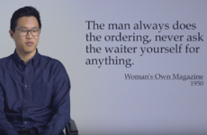 Men read old-school dating advice for women, and were totally astounded