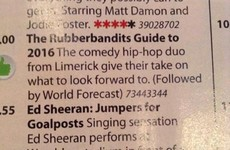 The RTÉ Guide has made an absolute hames of the Rubberbandits' 1916 documentary
