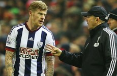 Tony Pulis slams 'stupid' James McClean for Bournemouth red card