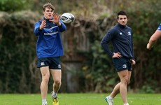 Ringrose named at centre for Leinster's clash with Munster