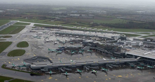 This amazing photo shows what Dublin Airport looks like on Christmas Day
