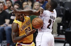 LeBron James and Cleveland humbled as Portland hand out thrashing