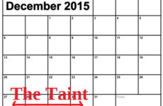 There's only one word for this period on the festive calendar