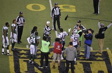 Bizarre coin toss hands the Jets a massive win against the Patriots